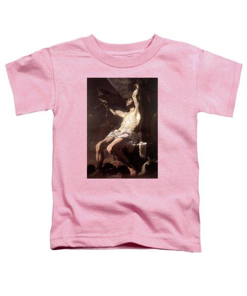 Saint Sebastian By Mattia Preti Toddler T-Shirt