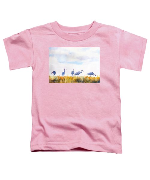 Sandhill Skyline Toddler T-Shirt