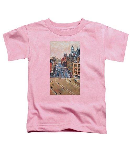 Sunny Sunday At The Damrak Toddler T-Shirt