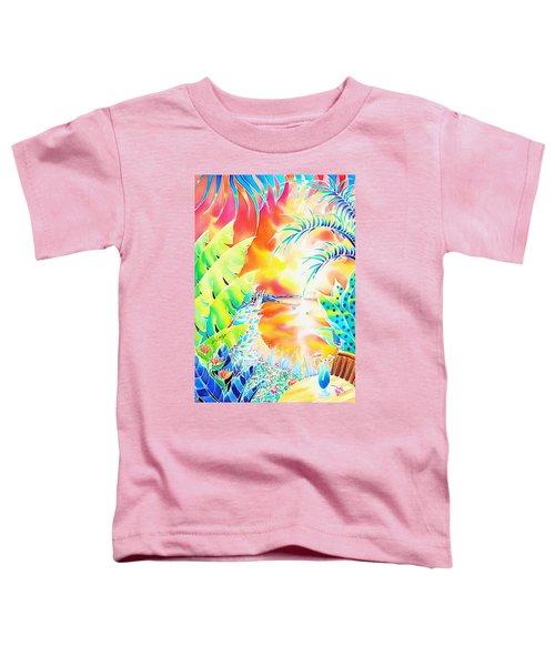 Sunset Cocktail Toddler T-Shirt