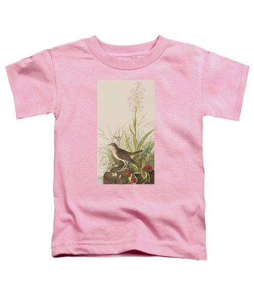 Tawny Thrush  Toddler T-Shirt