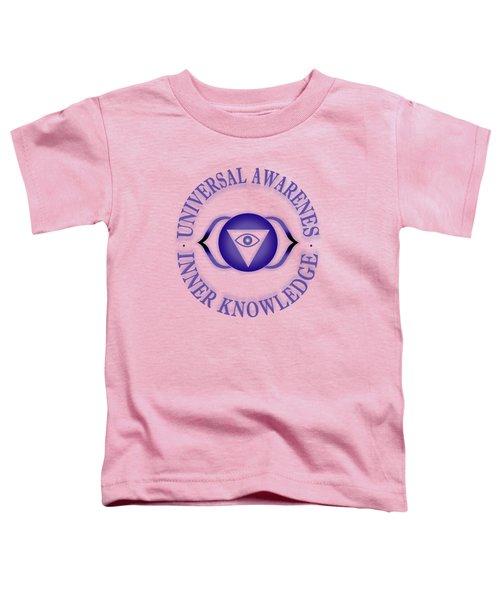 Third Eye Chakra Toddler T-Shirt