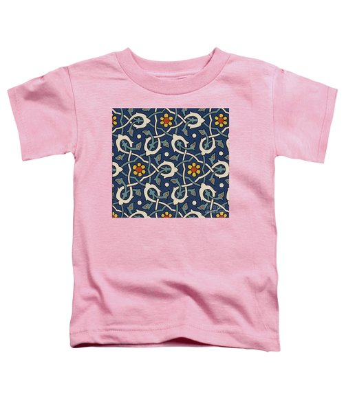 Turkish Textile Pattern Toddler T-Shirt