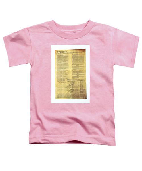 U.s Constitution Toddler T-Shirt