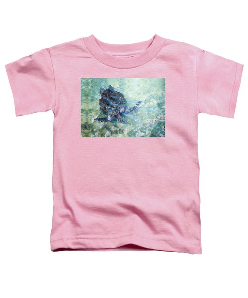Watercolor Turtle Toddler T-Shirt