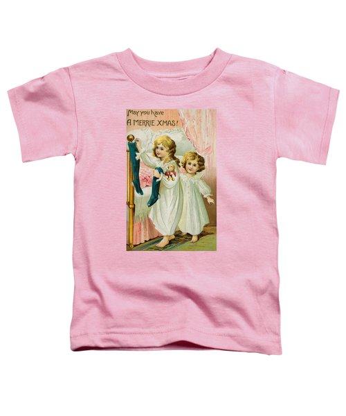 Christmas Card Toddler T-Shirt