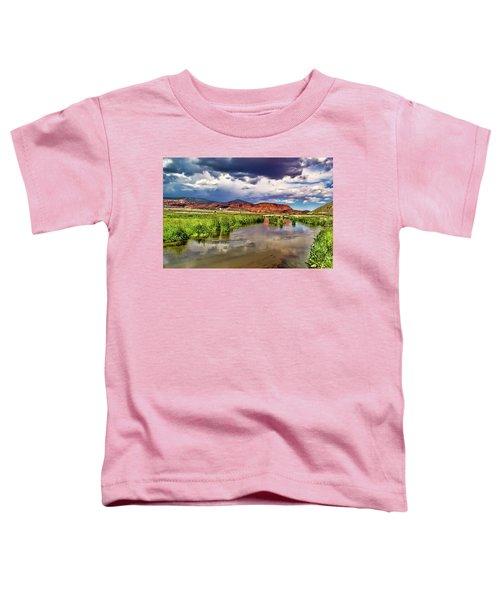 Mountain Lake Toddler T-Shirt