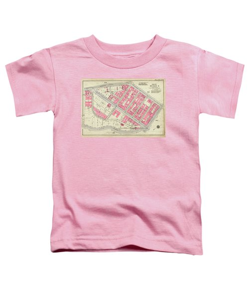 1930 Inwood Map  Toddler T-Shirt by Cole Thompson