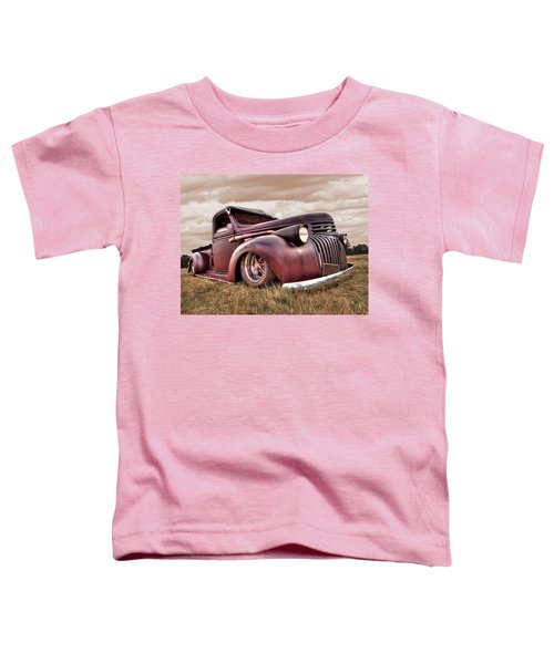 1941 Rusty Chevrolet Toddler T-Shirt