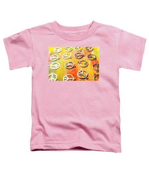 1960s Peace Movement Toddler T-Shirt