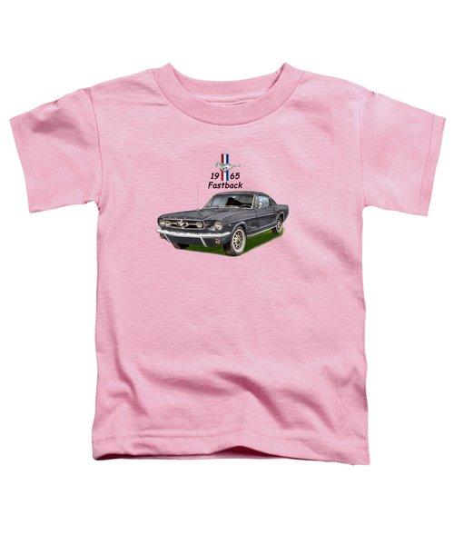 Mustang Fastback 1965 Toddler T-Shirt