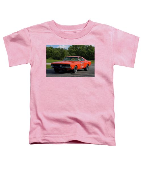1969 Dodge Charger Rt Toddler T-Shirt