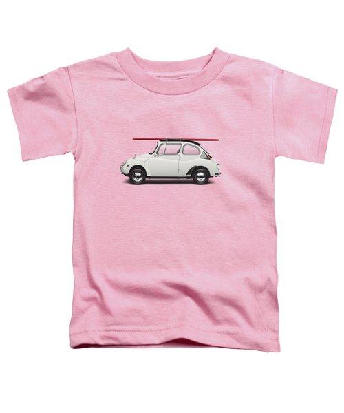 1969 Subaru 360 Young Ss - Creme Toddler T-Shirt