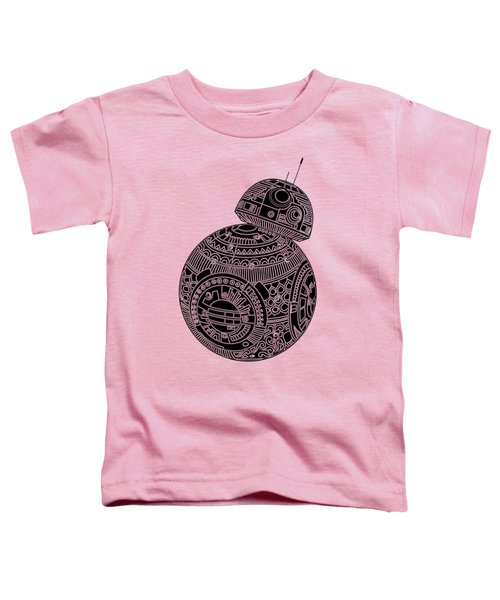 Bb8 Droid - Star Wars Art, Brown Toddler T-Shirt