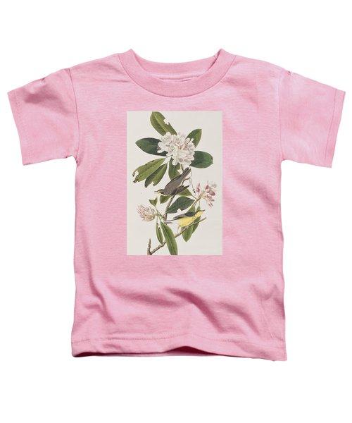 Canada Warbler Toddler T-Shirt by John James Audubon