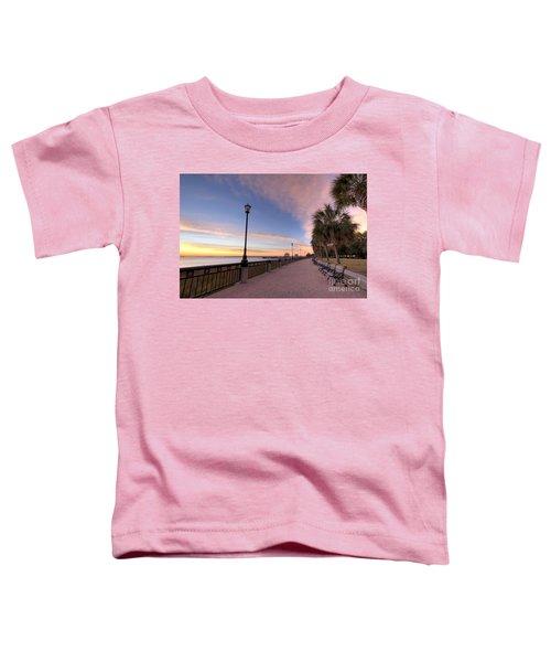 Charleston Waterfront Park Sunrise  Toddler T-Shirt