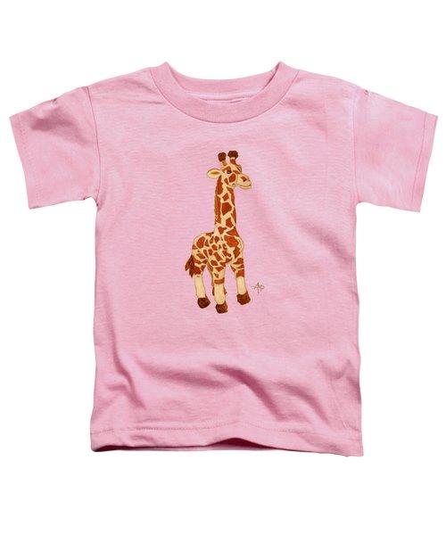 Cuddly Giraffe Toddler T-Shirt