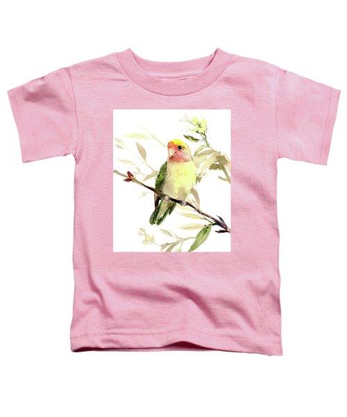 Lovebird Toddler T-Shirt by Suren Nersisyan