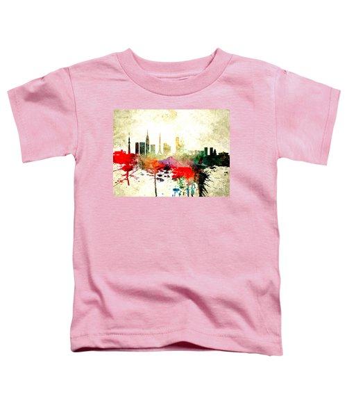 Tokyo Toddler T-Shirt by Daniel Janda