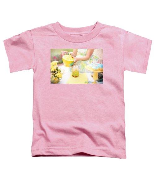 Vintage Val Iced Tea Time Toddler T-Shirt