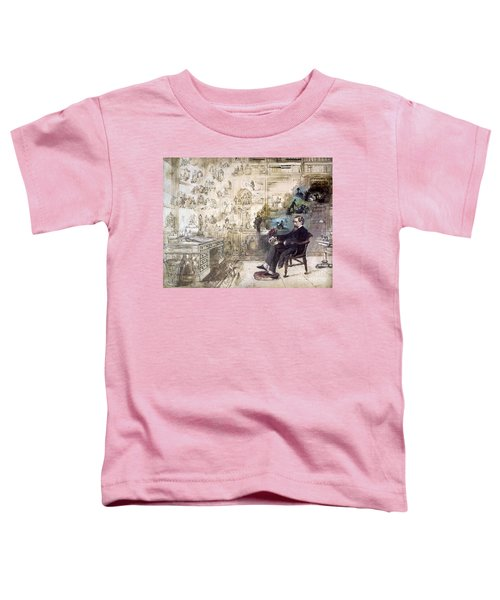 Charles Dickens 1812-1870.  To License For Professional Use Visit Granger.com Toddler T-Shirt