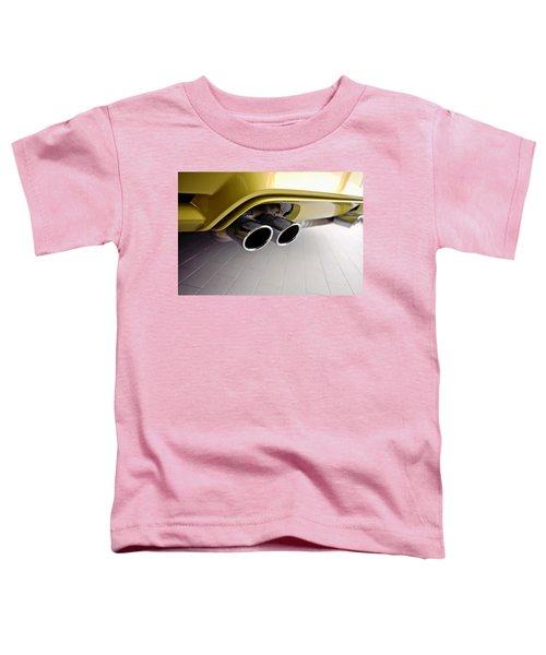 2015 Bmw M4 Exhaust Toddler T-Shirt