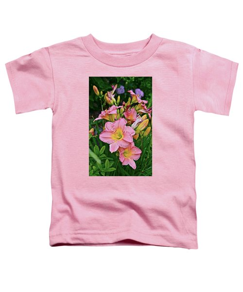 2015 Summer At The Garden Daylilies 1 Toddler T-Shirt