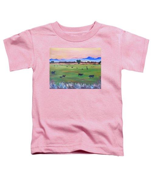 #30 Waking Up Toddler T-Shirt