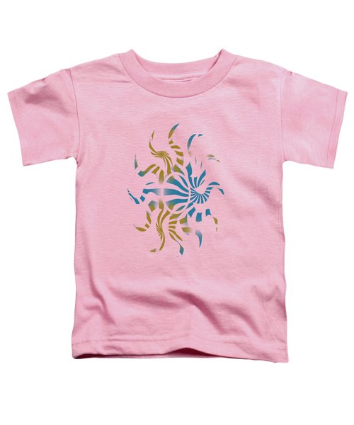 3d Spiral Pattern Toddler T-Shirt