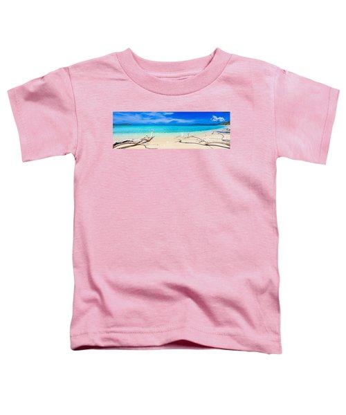 Tropical Beach Malcapuya Toddler T-Shirt