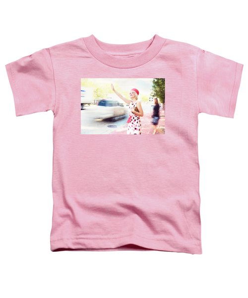 Vintage Val The Coral Hat Toddler T-Shirt