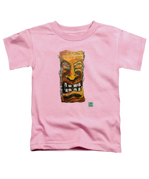 Tiki Art Toddler T-Shirt