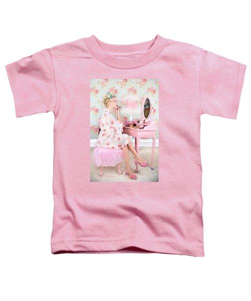 Vintage Valentine Date Toddler T-Shirt