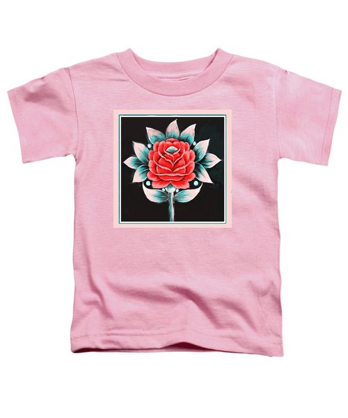 628 2 Truck Art 5 Toddler T-Shirt
