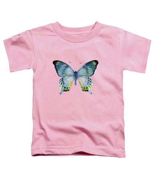 68 Laglaizei Butterfly Toddler T-Shirt by Amy Kirkpatrick