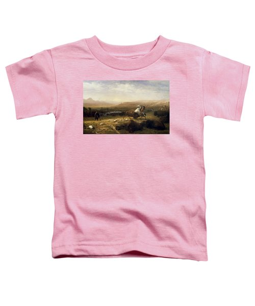 The Last Of The Buffalo Toddler T-Shirt