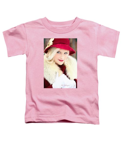 Vintage Val Home For The Holidays Toddler T-Shirt