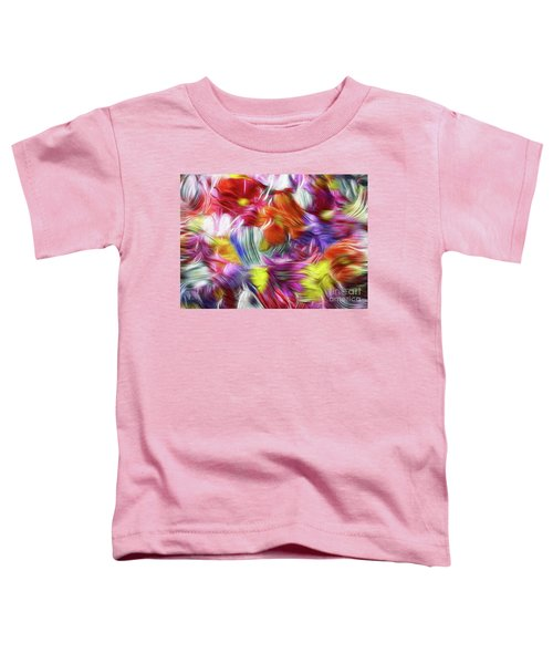 9a Abstract Expressionism Digital Painting Toddler T-Shirt