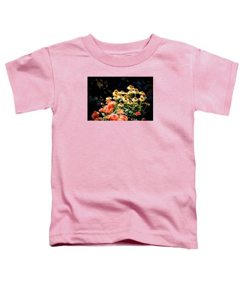 A Bright Flower Patch Toddler T-Shirt