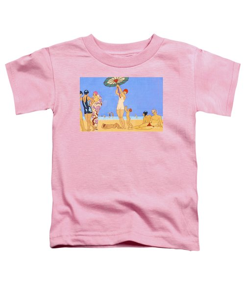 A Day At The Beach, 1923 Toddler T-Shirt