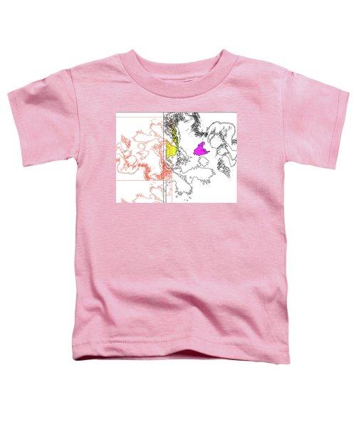A Map Of Irises Toddler T-Shirt