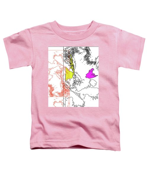 A Map Of Irises Toddler T-Shirt
