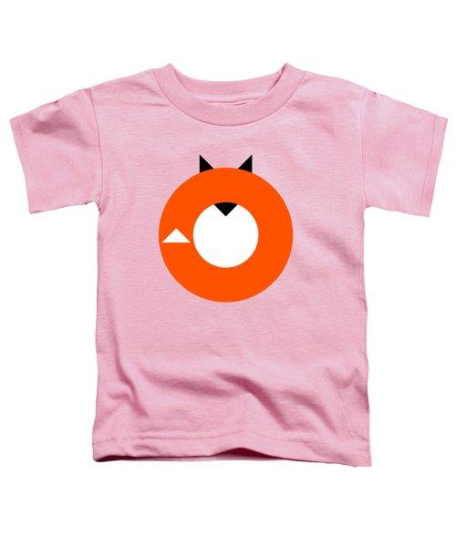 A Most Minimalist Fox Toddler T-Shirt