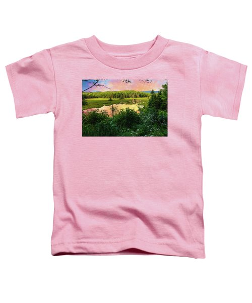 A New England Bog. Toddler T-Shirt