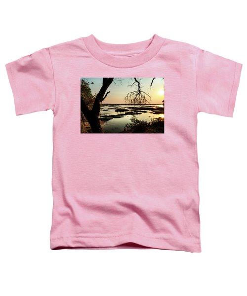 A River Sunset In Botswana Toddler T-Shirt