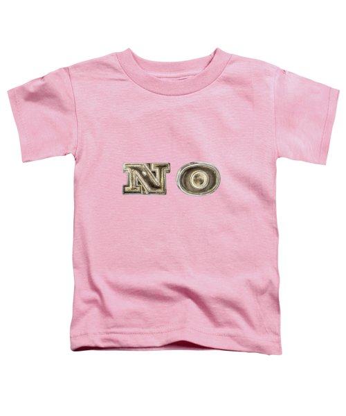A Simple No Toddler T-Shirt