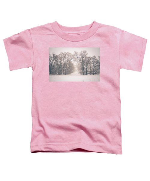 A Snowy Monday Toddler T-Shirt