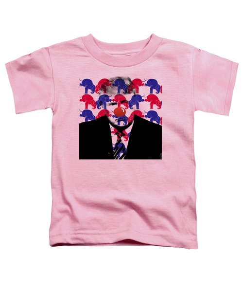 A Triumphant Clown Variant #66 Toddler T-Shirt by Mr Clever