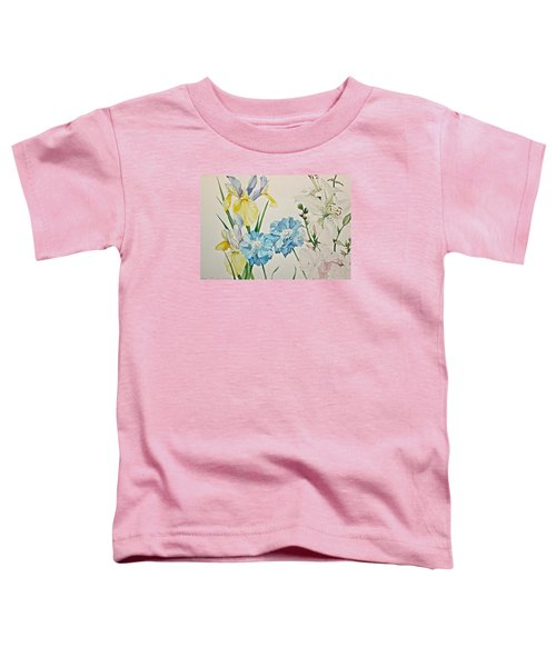 A Variety-posthumously Presented Paintings Of Sachi Spohn  Toddler T-Shirt