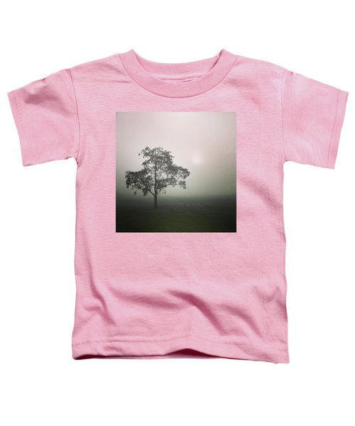 A Walk Through The Clouds #fog #nuneaton Toddler T-Shirt